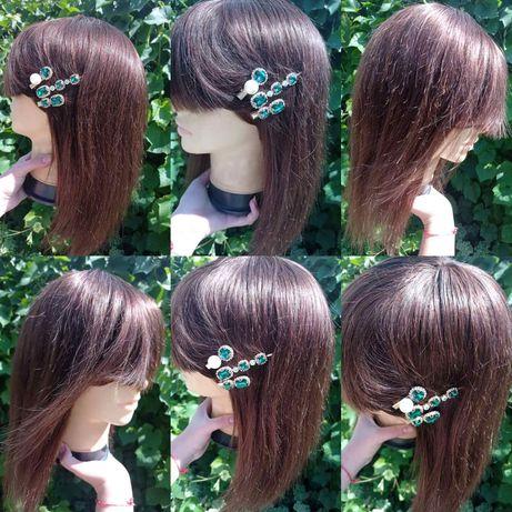 Натуральный реалистичный парик не крашенный русый детские славянские в