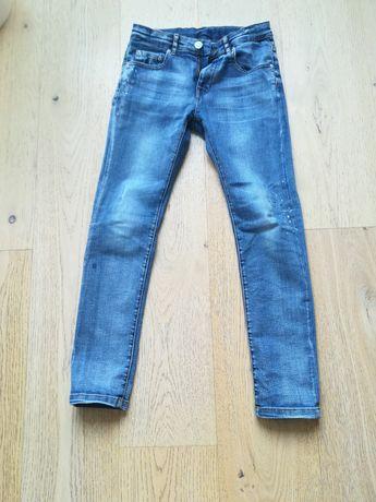 Spodnie jeansowe chłopiec Zara 140