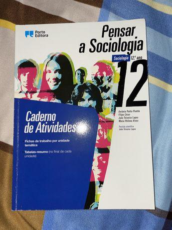 Pensar em Sociologia 12° ano, porto editora