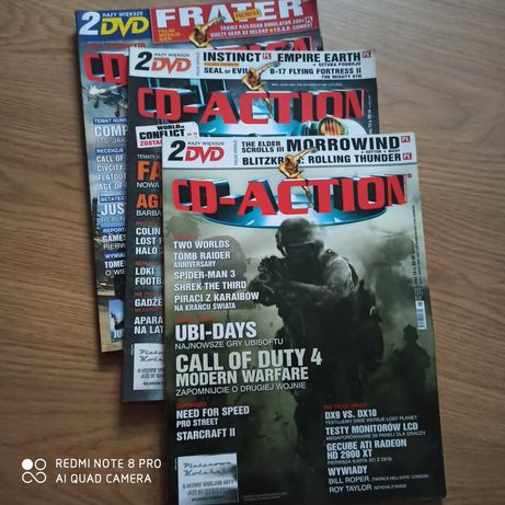 CD-action czasopisma