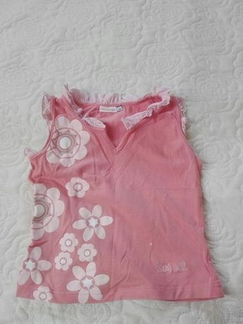 Bluzeczka Hot Oli rozmiar 122 ,95%bawełna