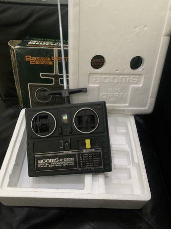 Двухканальный радиопередатчик,пуль управления Acoms AP-227MK2 Япония