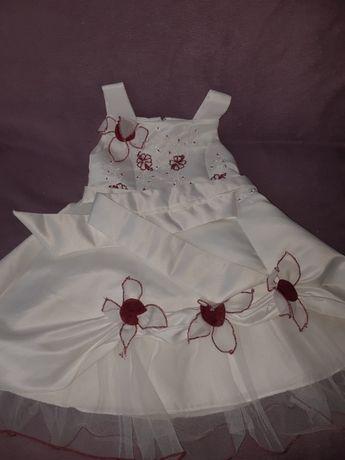 Elegancka sukienka 92 cm