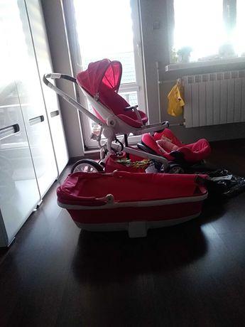 Wózek quinny moodd 3w1 pink passion