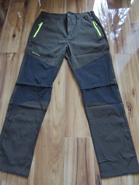 Spodnie Trekkingowe SPODNIE 2w1 odpinane nogawki Nowe