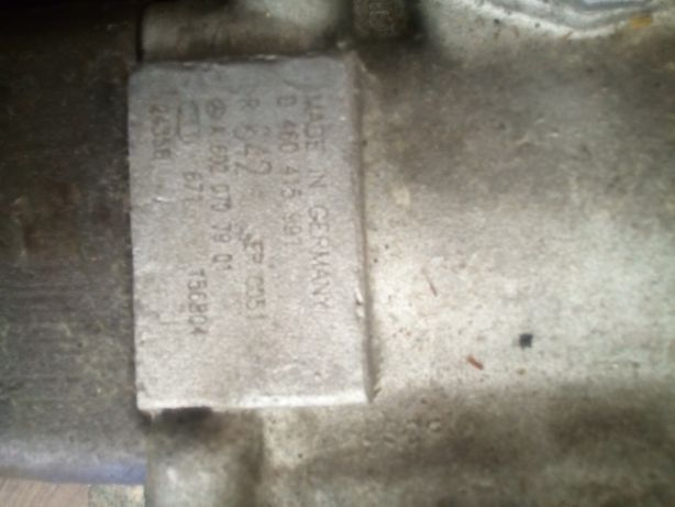 pompa wtryskowa paliwa mercedes w210. e290/sprinter 2.9td