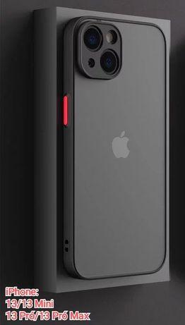 Capa efeito Smoked iPhone 13 Mini / X / XS / 11 / 12 -Nova-24h