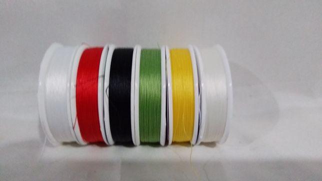 Нить для вышивки бисером TYTAN 100 ( 100 м).