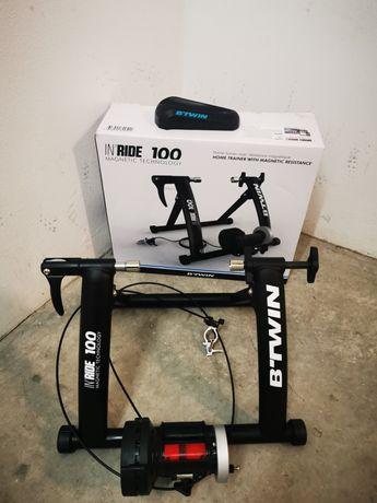Rolo de treino+Suporte Roda Dianteira +Sensor de Velocidade