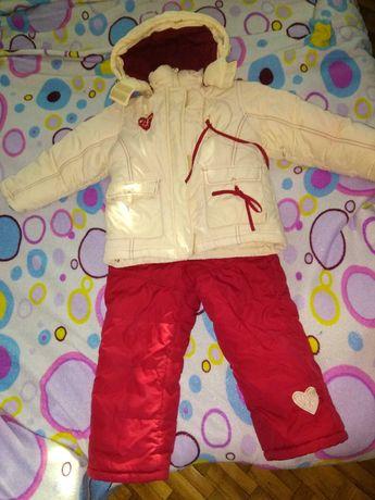 Продам зимний Комбинезон и Куртка КИКО для девочек.