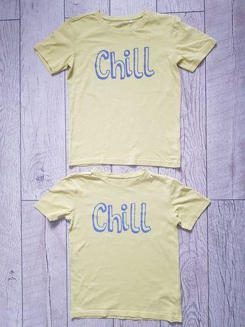 T-shirty Reserved dla bliźniaków rozm. 134 i 140