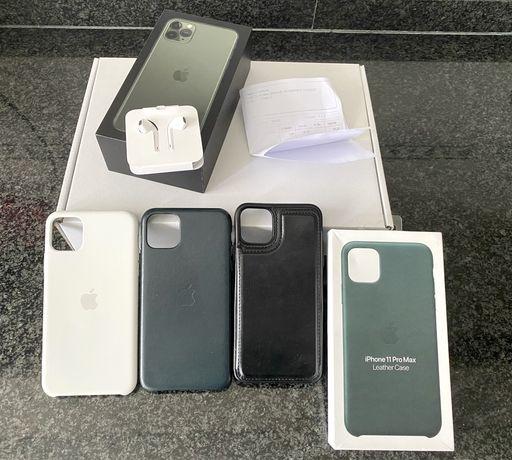 Iphone 11 pro max com garantia! Novo
