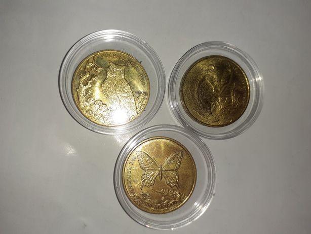 Monety mennicze 2zlotowe różne roczniki