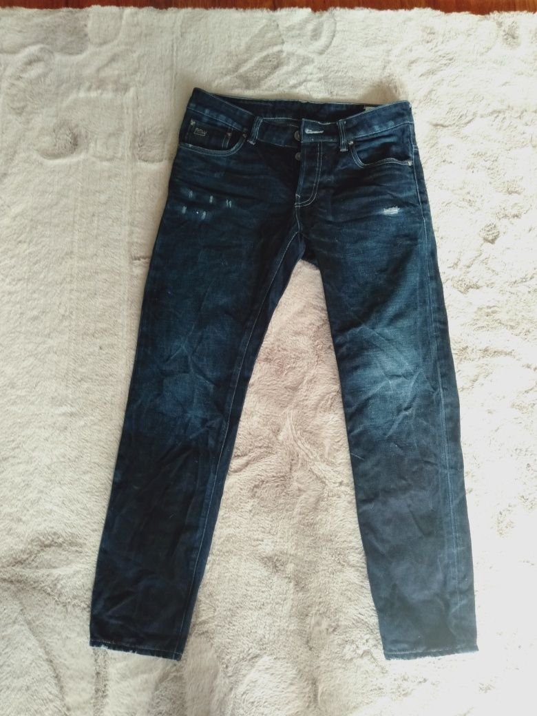 Spodnie jeans G-Star Raw 3301 32/32 okazja