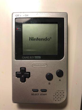 Gameboy pocket+ tetris