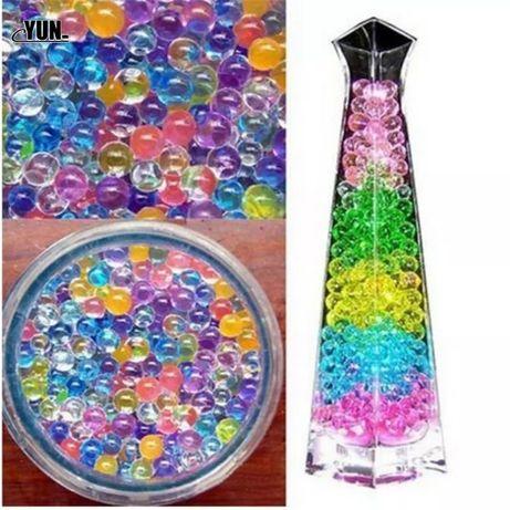 2000 pçs Grande Hidrogel Pérola Cristal Do Solo Contas de Água Mud