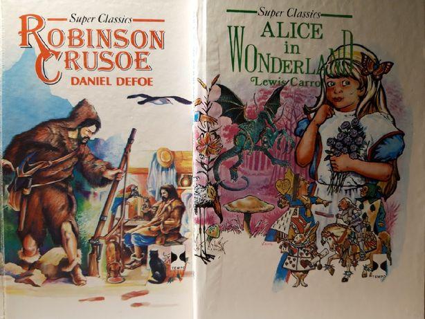 Robinson Crusoe & AIice in Wonderland