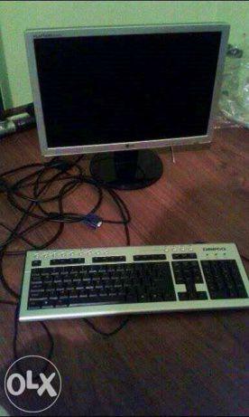 OKAZJA!!! Komputer cały zestaw z monitorem i klawiaturą! Stan IDEALNY