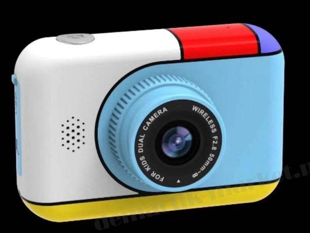 Детский цифровой фотоаппарат Children's fun Camera с 2 камерамиM ck