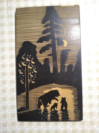 Картина на дереві