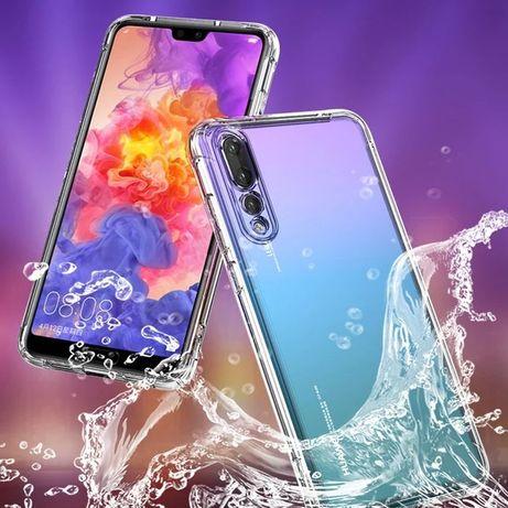 Capa Anti-xock Semi-Ríg. Huawei P20/P20 Pró/ P20 Lite/Y7 2019/P40 Lite