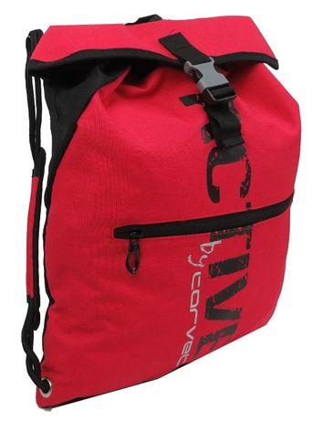 Спортивный рюкзак-мешок 13L Corvet, BP2125-58 красный