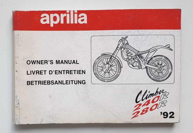 Manual Instruções Aprilia 240 e 280R