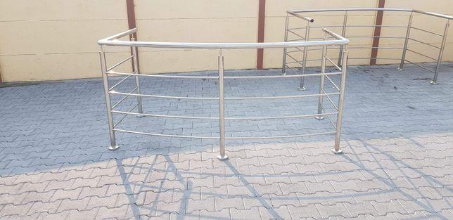 Balustrady balkonowe ze stali kwasoodpornej