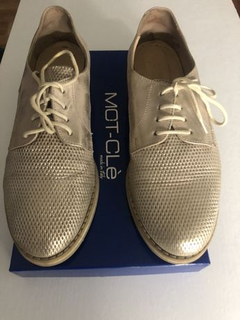 Женские кожаные туфли Mot-Cle ( Италия)