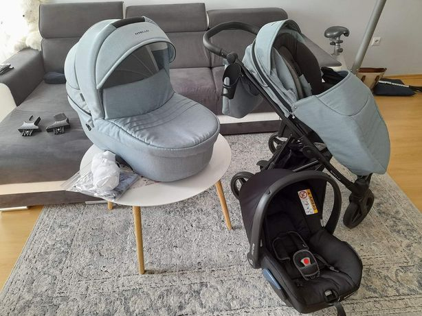 Wózek 3w1 gondola spacerówka Bebetto Nitello