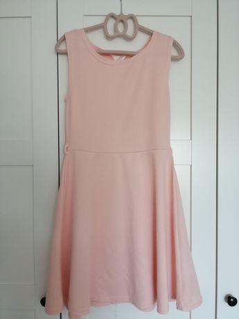 Sukienka pudrowy róż XS/S