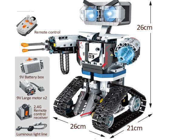 Klocki Technic Robot Zdalnie sterowany RC Wysyłka kompatybilne z LEGO