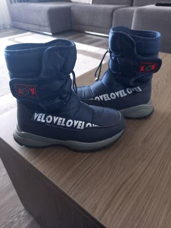 Зимові чобітки 34 розмір