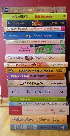 Książki - różne tytuły
