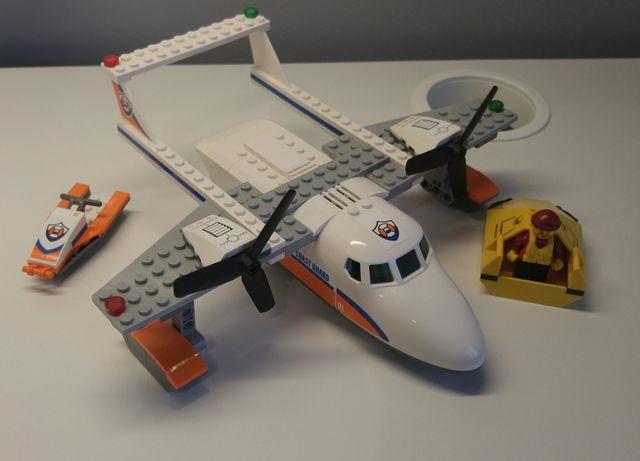 LEGO city 60164 samolot hydroplan