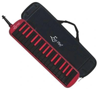 Melodyka Ever play M32K-6RD red-black z futerałem