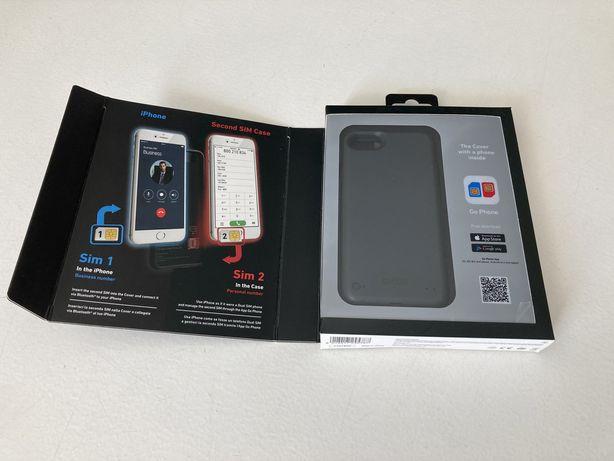 Capa iPhone 6, 6s, 7, 8, SE 2020, SBS Dual SIM Preta NOVA