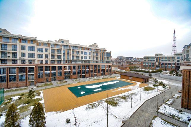 В ЖК Комфорт Сити продам 1-к квартиру с террасой (26 м.кв) и парковкой