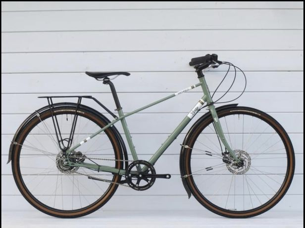 Жіночий велосипед Genesis smithfier bridge Cromo 4130 2020