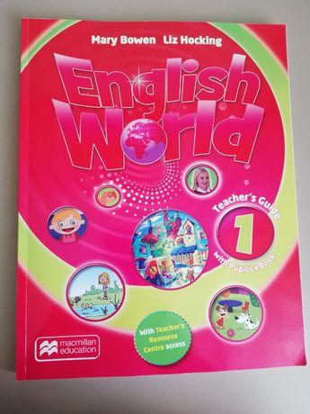 Книга для вчителя English World1