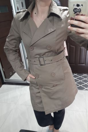 Płaszcz trencz r. L 40