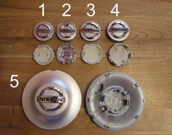 Колпачки (колпачок колпак) заглушки на литые диски Nissan Нисан