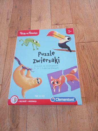 Puzzle dla dzieci 2+