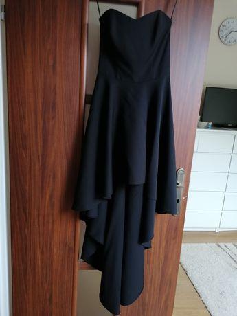 Sukienka z gorsetem czarna