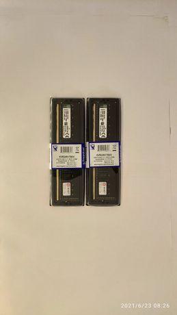 Оперативная память DDR4 Kingston HyperX 2x 4GB 2400MHz Новая!!!