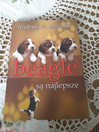 Książka o psach Beagle są najlepsze A.W.Baciński