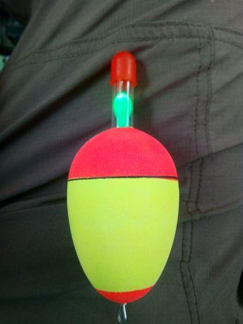 Поплавок на толстолоба с подсветкой LED толстолобик сом карп оснастка