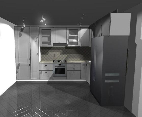 Кухня, шафа купе, спальня. Дизайн в подарунок.
