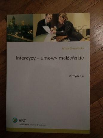 Intercyzy - umowy małżeńskie Alicja Brzezińska wydanie 2.