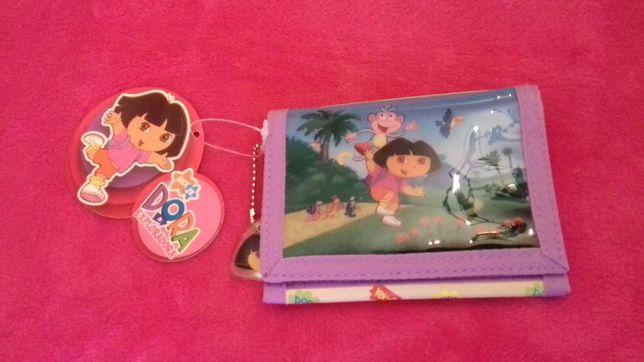Carteira nova para menina da Dora